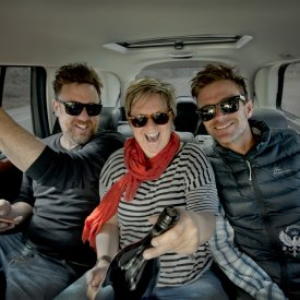 Theo, Nicky and Jared
